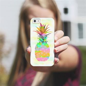 Pineapple iPhone 5s case by Orna Artzi | Casetify