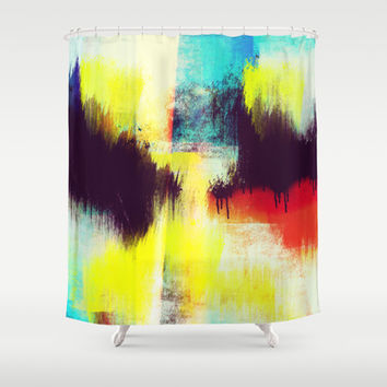 A Subdued Trance Shower Curtain by Timothy Davis