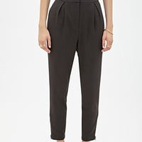 Zippered-Ankle Trousers