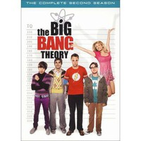 The Big Bang Theory: The Complete Second Season (4 Discs) (Widescreen) (Dual-layered DVD)