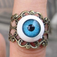 eye ring, Adjustable Band