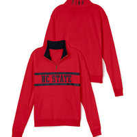 North Carolina State Boyfriend Half Zip - PINK - Victoria's Secret