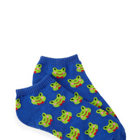 Smiling Frogs Ankle Socks