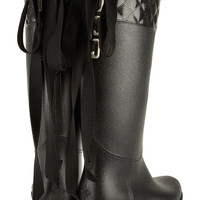 Däv Victoria quilted PVC boots – 50% at THE OUTNET.COM