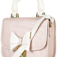 Croc Trim Bow Bag - Cross Body Bags - Bags & Wallets  - Accessories