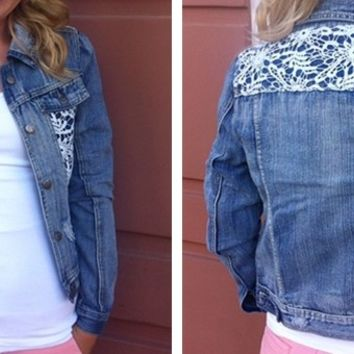 Perfect for Fall - Denim jackets!
