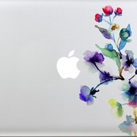 macbook decal colors flower Macbook sticker partial cover Macbook Pro decal Skin Macbook Air 13 Sticker Macbook decal