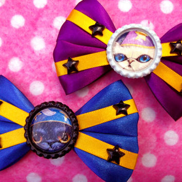 Wizard Kitty Cat Hair Bows