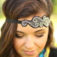Scroll Along Headband