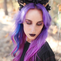 The Black Orchid Crown