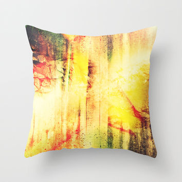 Existing In Thought Throw Pillow by Timothy Davis