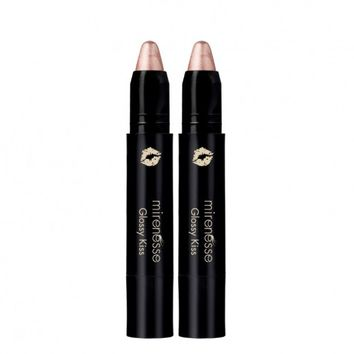 Glossy Kiss Lip Cheek Colour Duo-13. Wet Kiss-Factory Seconds* - Mirenesse
