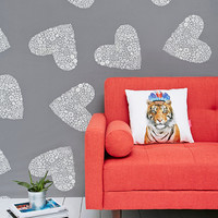 Sweetheart Tapestry Throw in Grey - Urban Outfitters