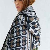 Buffalo Stance Hooded Ruana - Urban Outfitters