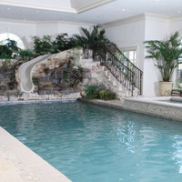 Design of a swimming pool in the house in various versions | : Architecture Home Designs