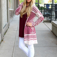 A Walk In the Woods Cardi