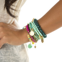Bohemian Beauty Bracelet Set: Multi