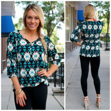 Waterfall Canyon Blouse