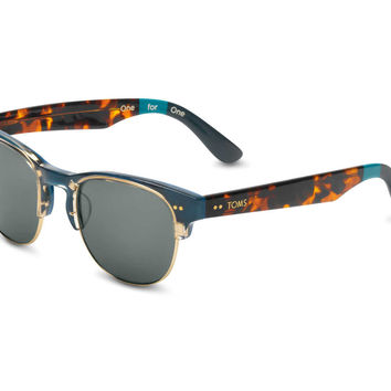 LOBAMBA STEEL BLUE WHISKEY TORTOISE