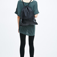 Out From Under Sport Drawstring Bag in Black - Urban Outfitters