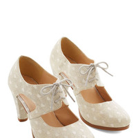 Sincerely Irresistible Heel in Ivory