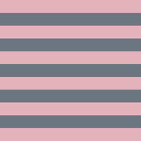 Stripe Horizontal Coral Pink Gray Stretched Canvas by BeautifulHomes | Society6