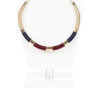 Metro Wrapped Chain Collar Necklace | Multi | Accessorize