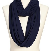 Women's Solid-Jersey Infinity Scarves