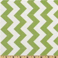 Riley Blake Chevron Green - Discount Designer Fabric -  Fabric.com