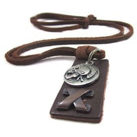 soft leather long necklace  men leather long necklace women leather necklace   PL0218