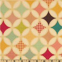 Fly A Kite Ice Cream Floral Cream - Discount Designer Fabric -  Fabric.com