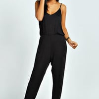 Erin Drape Back Strappy Jumpsuit