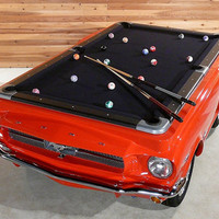FFFFOUND! | Ford Mustang Pool Table - The Awesomer