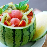 Watermelon Fruit Bowl | Cute Fruit | CutestFood.com