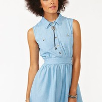 Arizona Chambray Dress
