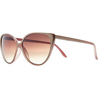 gold cateye sunglasses