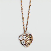 FULL TILT Love Puff Necklace  182315621 | Jewelry | Tillys.com