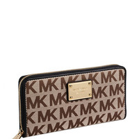 Michael Michael Kors Jet Set Continental Zip Around Wallet