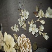 Couture Embroidered Wallpapers