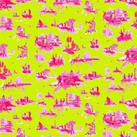 Timorous Beasties - Wallcoverings  - London Toile Brights