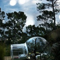 Crystal Bubble Portable Hotel Rooms