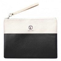 Fleabags Traveler's Clutch - Roma Black - bags & wallets - personal accessories
