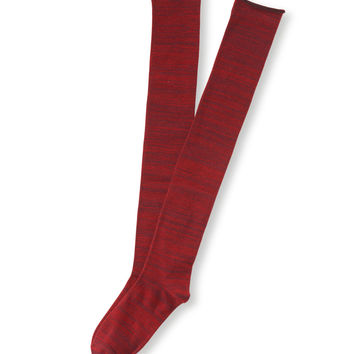 Aeropostale Womens Streaky Over-The-Knee Socks