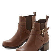 ModCloth Crisscrossing the City Boot