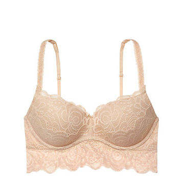 Rose Lace Push-Up Bralette  PINK  Victoriax27s Secret