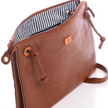 By My Side Purse Brown