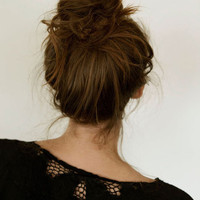 How To: Perfectly Messy Bun | Hair On The Brain