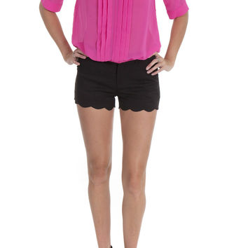 Sugarmint Top Pleated V Neck Pink – Famous Style by Stalhi Boutique