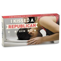 I Kissed A Republican Gum - Whimsical & Unique Gift Ideas for the Coolest Gift Givers
