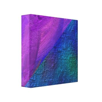 Beautiful Abstract Faux Texture Canvas Print